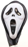 Halloween/Fastelavn Maske (Scream)