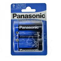 Panasonic D batterier